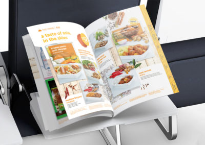 Tigerair Tigerbites Menu Design for Summer 2016 – Open View