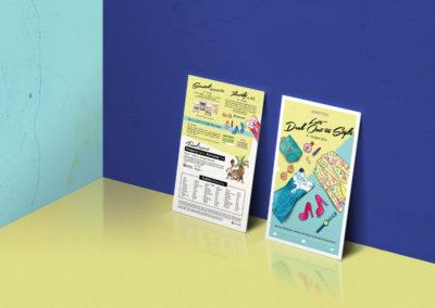 Junction 8 Fashion Week Campaign Design 2016 - Mailer Design