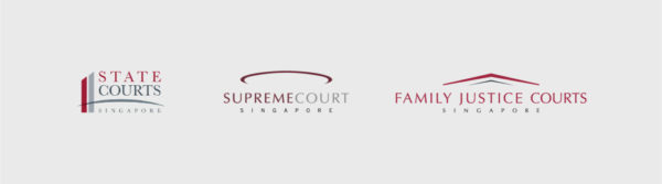 Leow HouTeng Design Portfolio - Family Justice Courts Corporate Identity - the court of justice logos