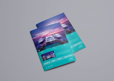Marina Bay Cruise Centre Singapore - Homeport Advertising Campaign