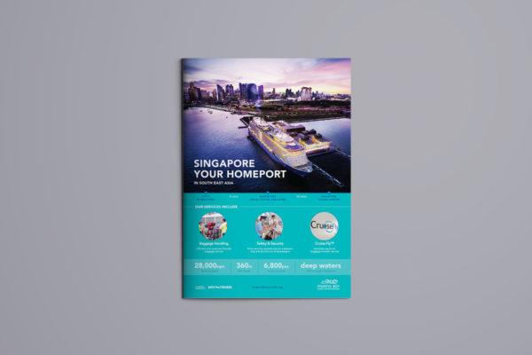 Leow HouTeng Design Portfolio - Marina Bay Cruise Centre Singapore - Singapore Homeport Advertising Campaign Final