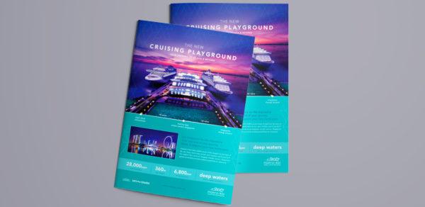 Design and Digital Marketing Portfolio - Marina Bay Cruise Centre Singapore - Cover