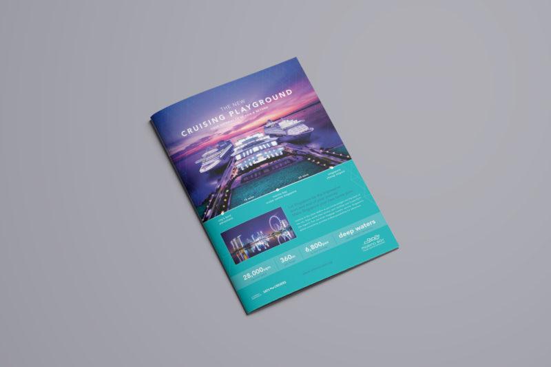Design and Digital Marketing Portfolio - Marina Bay Cruise Centre Singapore - Homeport Advertising Campaign - Leow Hou Teng