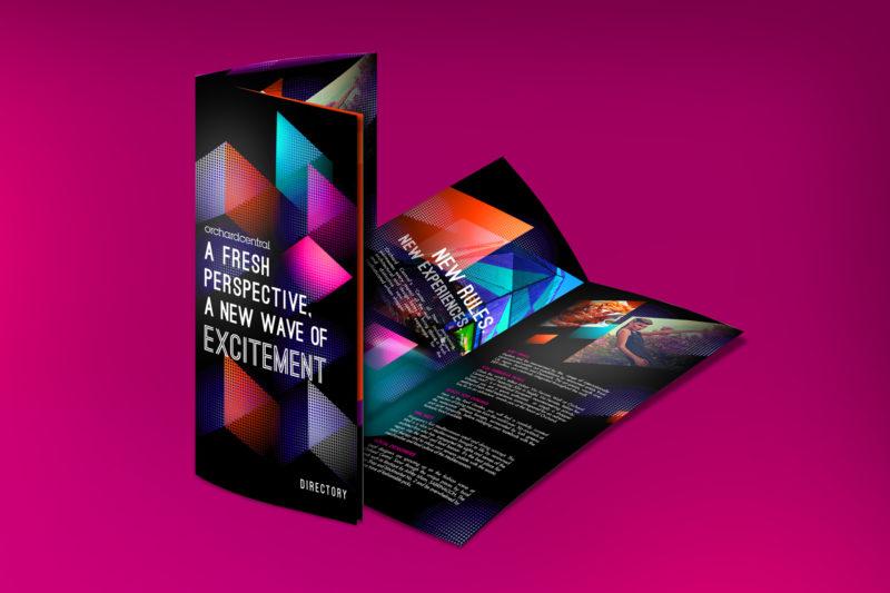 Design and Digital Marketing - Orchard Central Directory Brochure 1 - Leow Hou Teng