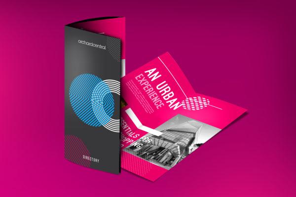 Design and Digital Marketing Portfolio - Orchard Central Directory Brochure 2 - Leow Hou Teng