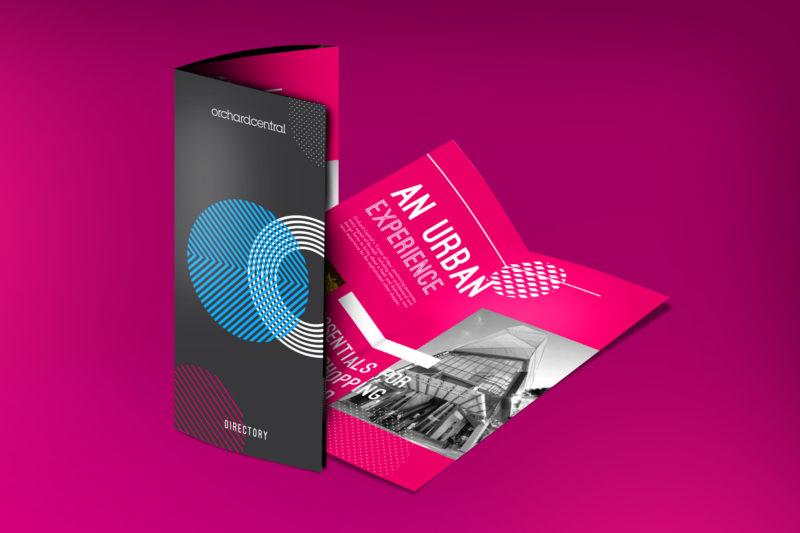 Design and Digital Marketing - Orchard Central Directory Brochure 2 - Leow Hou Teng