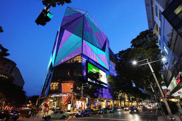 Design and Digital Marketing Portfolio - Orchard Central Directory Brochure - Building - Leow Hou Teng