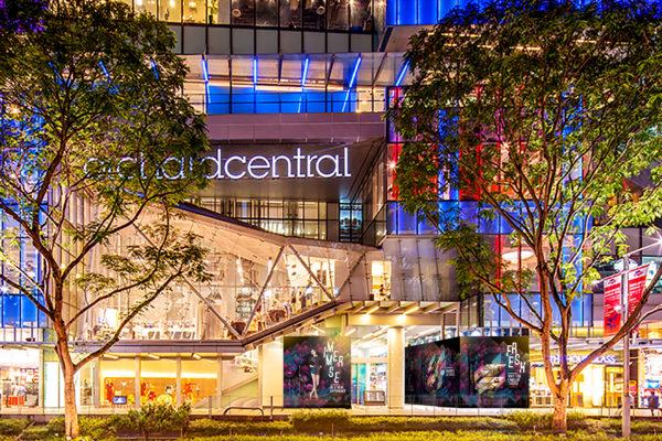 Design and Digital Marketing Portfolio - Orchard Central Hoarding - Entrance - Leow Hou Teng