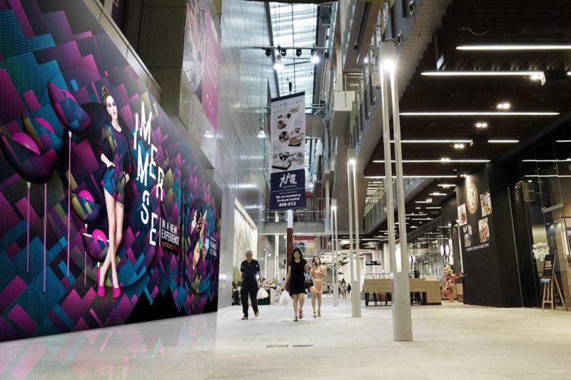 Design and Digital Marketing - Orchard Central Hoarding - Foyer - Leow Hou Teng