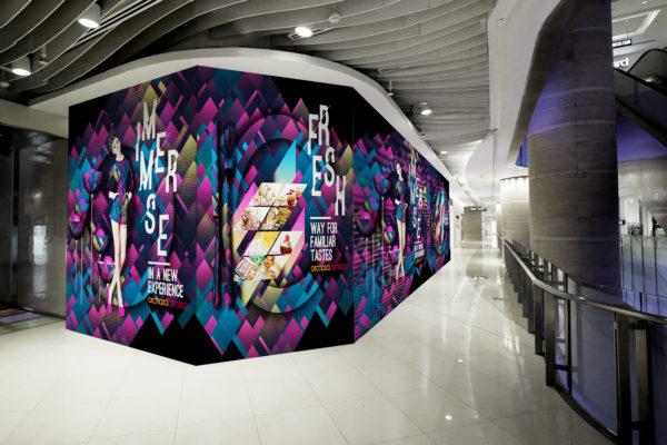 Design and Digital Marketing Portfolio - Orchard Central Hoarding - Shop - Leow Hou Teng