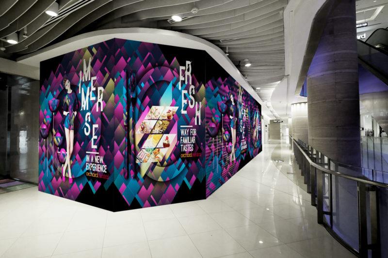 Design and Digital Marketing - Orchard Central Hoarding - Shop - Leow Hou Teng