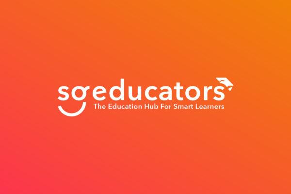 Design and Digital Marketing Portfolio - SGEducators Tuition Portal Development - SGEducators Logo Reverse