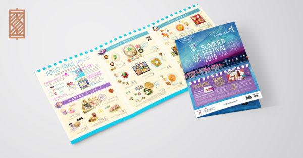 Design and Digital Marketing Portfolio - SM - Liang Court Summer Festival 2015