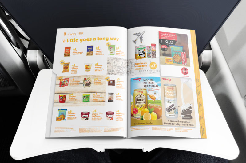 Design and Digital Marketing - Tigerair Tigerbites Menu Summer 2016 Open 2 - Leow Hou Teng