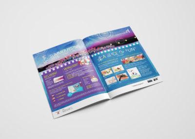Liang Court Summer Festival Campaign Design 2015 - 8Days Magazine Double-Spread Advertisement