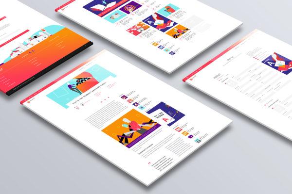 Design and Digital Marketing Portfolio - SGEducators Tuition Hub - Portal Development Closeup