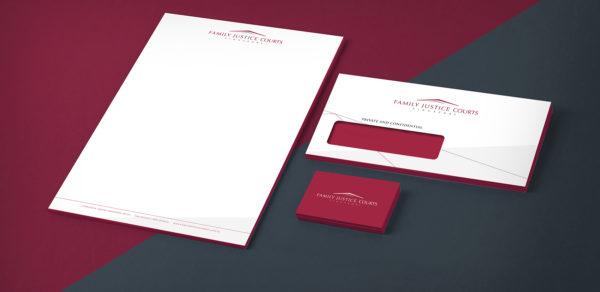 Leow HouTeng Design Portfolio - Family Justice Courts Corporate Identity - Cover