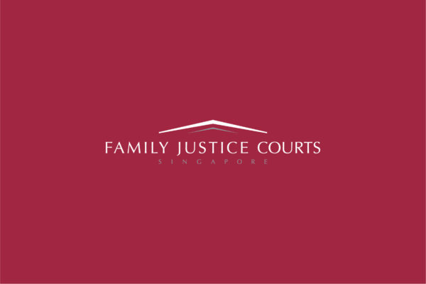Leow HouTeng Design Portfolio - Family Justice Courts Corporate Identity - Logo Inverse