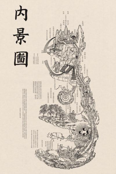 Leow HouTeng Design Portfolio - Questions to Heaven - Nei Jing Tu