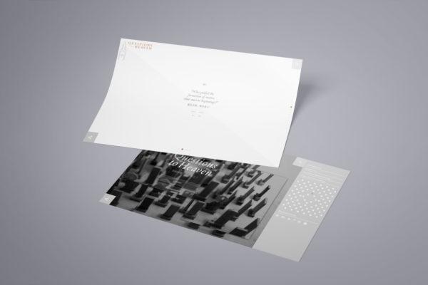 Design and Art Portfolio - Questions to Heaven - Website 1 - Leow Hou Teng