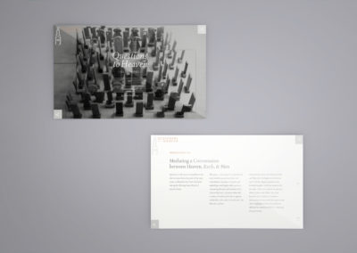 Design and Art Portfolio - Questions to Heaven - Website 2 - Leow Hou Teng