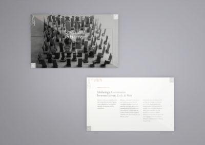 Design and Art Portfolio - Questions to Heaven - Website 2 - Leow Hou Teng