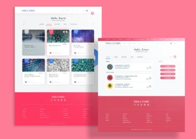 Design Portfolio Leow Hou Teng - Mobile Studies Learning Management System - Dashboard Documenatation