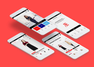 Uniqlo Self-Checkout Mobile App